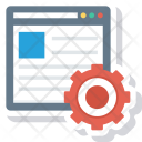 Blog Cms Content Icon