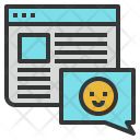 Blog Commenting Seo Icon