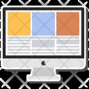 Monitor Online Website Icon