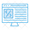Lcd Monitor Webpage Icon