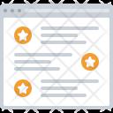 Blog Text Web Icon