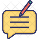 Blog Comment Icon