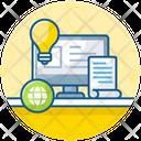 Blog Idea Web Content Online Journal Icon