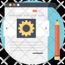 Seo Marketing Blog Icon