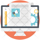 Blog management Icon