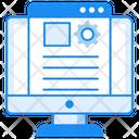 Article Marketing Blog Management Content Management Icon