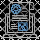 Blog Management Optimization Icon