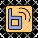 Blog Online Social Icon