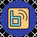 Blog Online Social Logo Shop Icon