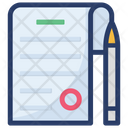Article Blog Writing Content Writing Icon