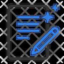 Blogger Content Copywrite Icon