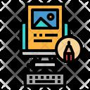 Blogger Vlogger Jobs Icon