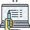 Blogger Content Article Icon
