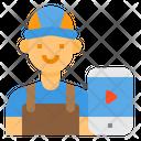 Blogger Vlogger Influencer Icon