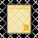 Blogger Paper Icon