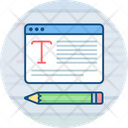 Blogging Icon