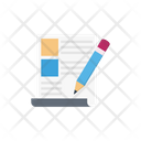 Contract Edit Sign Icon