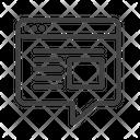 Blogging Blog Internet Icon