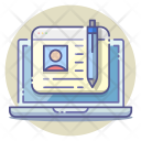 Blogging Blogger Article Icon