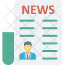 Blogging News Icon