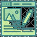 Blogs Writer Blogging Icon