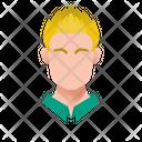 Blond Guy Icon