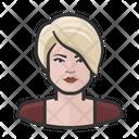 Blond Woman Blond Woman Icon