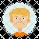 Blonde Boy Icon