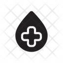 Blood Drop Medical Icon