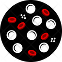 Blood Cancer Cell Icon
