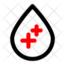 Blood Healthcare Sample Icon