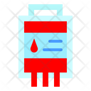 Blood Heart Bag Icon