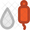 Blood Bag Donation Icon