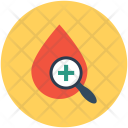 Blood Test Analysis Icon