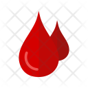 Blood Drop Donate Icon