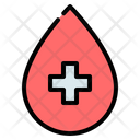 Blood Drop Water Icon