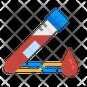 Blood Tube Test Icon