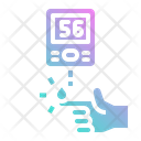 Blood Sugar Test Icon