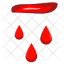 Pain Drops Wound Icon