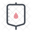 Blood Bottle Bloodbank Icon