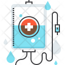 Blood Bottle Care Icon