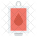 Blood Transfusion Infusion Icon