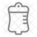 Bag Blood Infusion Icon