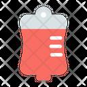 Bag Blood Color Icon