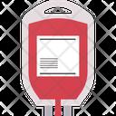 Blood Bag Icon