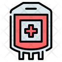 Blood Bag Iv Bag Icon
