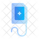Bag Blood Medical Medicine Icon