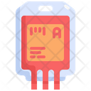Blood Bag Iv Bag Icon