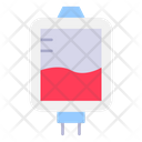 Blood Bag Blood Transfusion Donation Icon