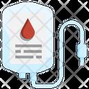 Blood Bag Medicine Drugs Icon